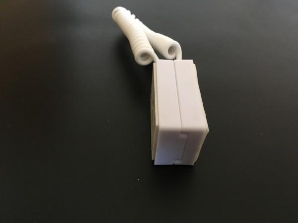Verlegeschutz mit Magnethalter weiss