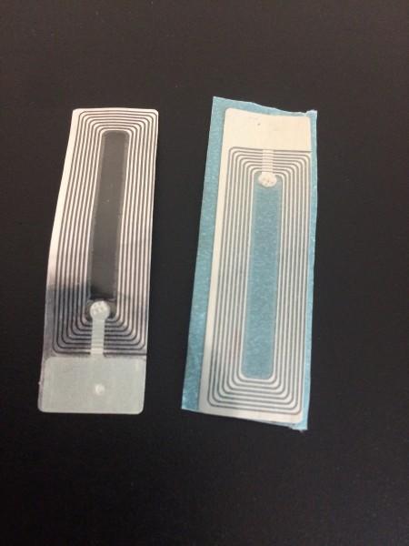 Klebeetikett Kosmetik 15x52 Transparent